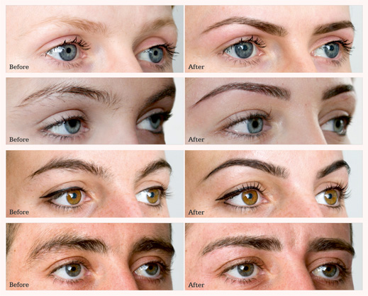 Henna Brows Before And After Makedes Com